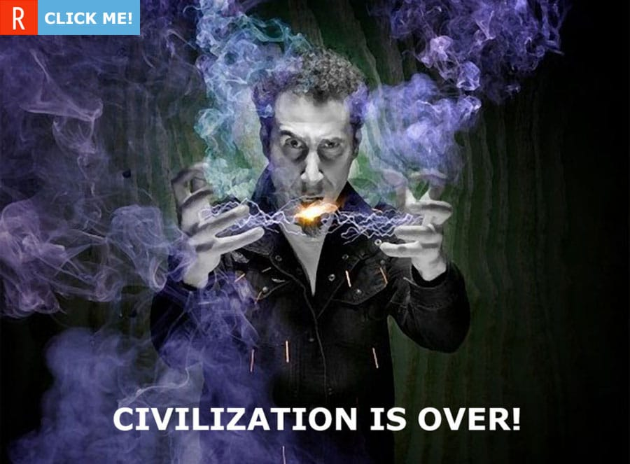 Серж Танкян вынес вердикт — «Civilization is over»