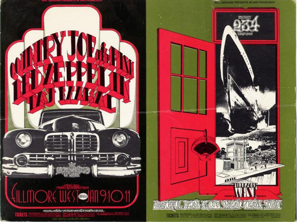 Тадж Махал и Led Zeppelin на одном постере (фото)