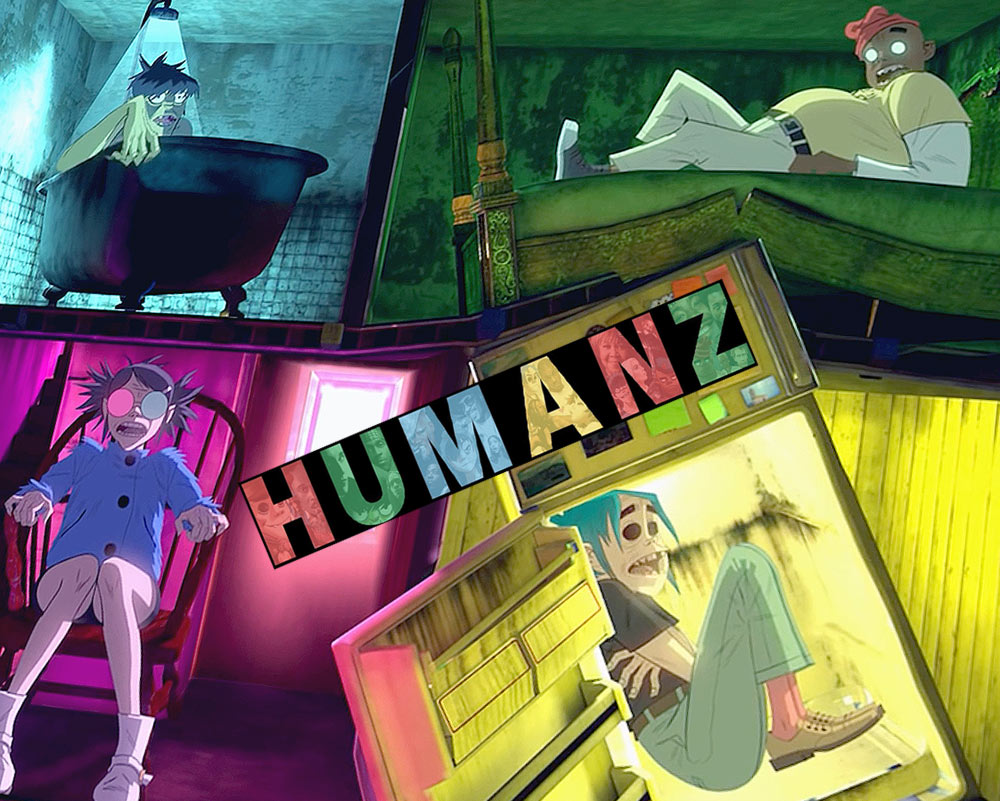 Gorillaz «Humans» (картинка)