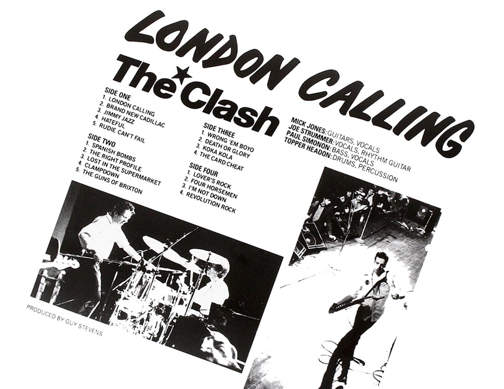 The Clash London Calling (картинка)