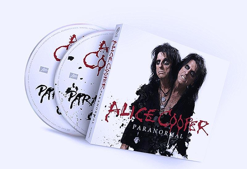 Alice Cooper на обложке «Paranormal» (картинка)