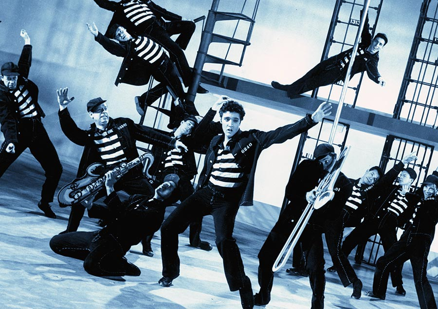Элвис Пресли (фотокадр из фильма Тюремный рок)